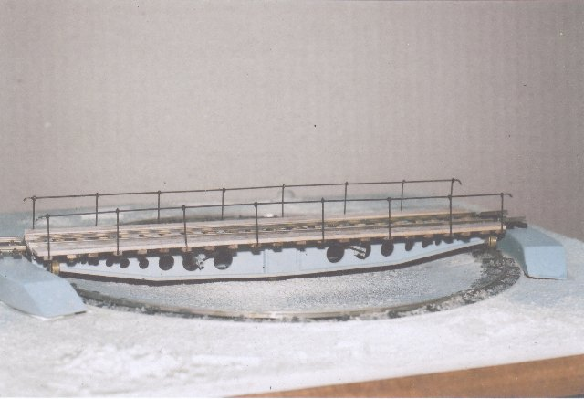 60ft Sellers cast iron turntable HO gauge